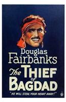 "The Thief of Bagdad Douglas Fairbanks - 11"" x 17"""