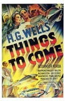 """Things to Come - 11"""" x 17"""" - $15.49"""