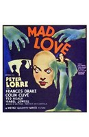 Mad Love - square Wall Poster