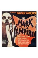 Mark of the Vampire - Lionel Barrymore Wall Poster