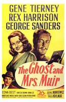 """The Ghost and Mrs Muir movie poster - 11"""" x 17"""" - $15.49"""