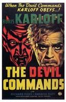 """The Devil Commands - 11"""" x 17"""""""