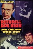 "Return of the Ape Man - 11"" x 17"""