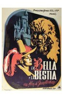 """Beauty and the Beast - Spanish - 11"""" x 17"""""""