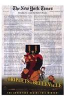 "The Triplets of Belleville - 11"" x 17"""