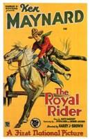 """The Royal Rider - 11"""" x 17"""""""