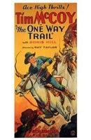 """The One Way Trail - 11"""" x 17"""""""