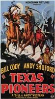 "Texas Pioneers - 11"" x 17"""