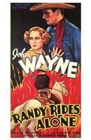 "Randy Rides Alone - 11"" x 17"""