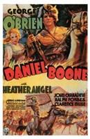 "Daniel Boone - 11"" x 17"""