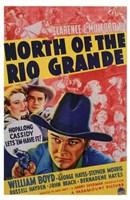 """North of the Rio Grande - 11"""" x 17"""""""