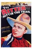 "Hittin' the Trail - 11"" x 17"""