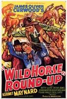 """Wild Horse Round-Up - 11"""" x 17"""""""