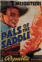 """Pals of the Saddle - 11"""" x 17"""""""