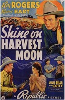 "Shine on Harvest Moon - 11"" x 17"""