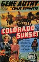 "Colorado Sunset - 11"" x 17"""