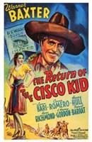 "The Return of the Cisco Kid - 11"" x 17"""
