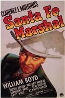 """Santa Fe Marshal - 11"""" x 17"""""""