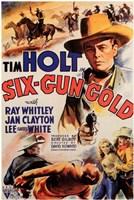 """Six-Gun Gold - 11"""" x 17"""" - $15.49"""