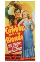 """The Cowboy and the Blonde - 11"""" x 17"""""""