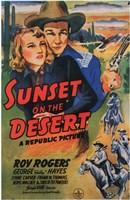 """Sunset on the Desert - 11"""" x 17"""""""