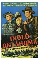 "In Old Oklahoma - 11"" x 17"""