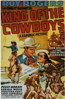 """King of the Cowboys - 11"""" x 17"""""""