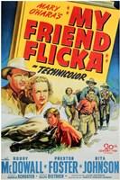 """My Friend Flicka - 11"""" x 17"""""""