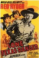 "Lone Texas Ranger - 11"" x 17"""