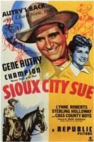 """Sioux City Sue - 11"""" x 17"""""""
