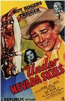 "Under Nevada Skies - 11"" x 17"""