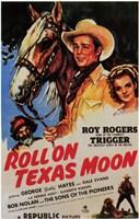 """Roll on Texas Moon - 11"""" x 17"""""""