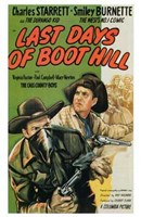 "Last Days of Boot Hill - 11"" x 17"" - $15.49"