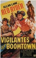 "Vigilantes of Boomtown - 11"" x 17"""