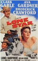 "Lone Star Ava Gardner - 11"" x 17"""