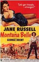 "Montana Belle - 11"" x 17"""