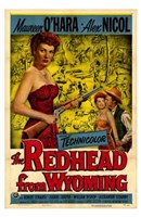 """The Redhead from Wyoming - 11"""" x 17"""""""