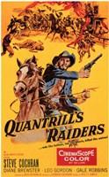 """Quantrill's Raiders - 11"""" x 17"""""""