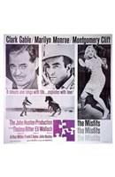 "The Misfits Clark Gable Marilyn Monroe Montgomery Cliff - 11"" x 17"""