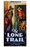 "The Lone Trail - 11"" x 17"""