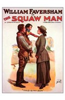 "The Squaw Man - 11"" x 17"""