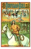 """The Life of Buffalo Bill - 11"""" x 17"""""""