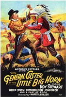 """with General Custer At Little Big Horn - 11"""" x 17"""""""