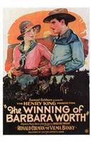 "Winning of Barbara Worth - 11"" x 17"""