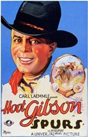 "Spurs Movie Hoot Gibson - 11"" x 17"""
