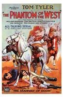 """Phantom of the West Tom Tyler - 11"""" x 17"""""""