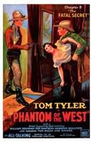 """Phantom of the West Fatal Secret - 11"""" x 17"""""""