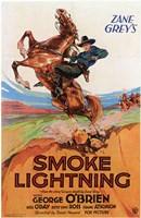 "Smoke Lightning - 11"" x 17"", FulcrumGallery.com brand"