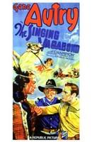 "The Singing Vagabond - 11"" x 17"" - $15.49"