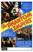 "The Phantom Empire 20,000 Feet Underground - 11"" x 17"""